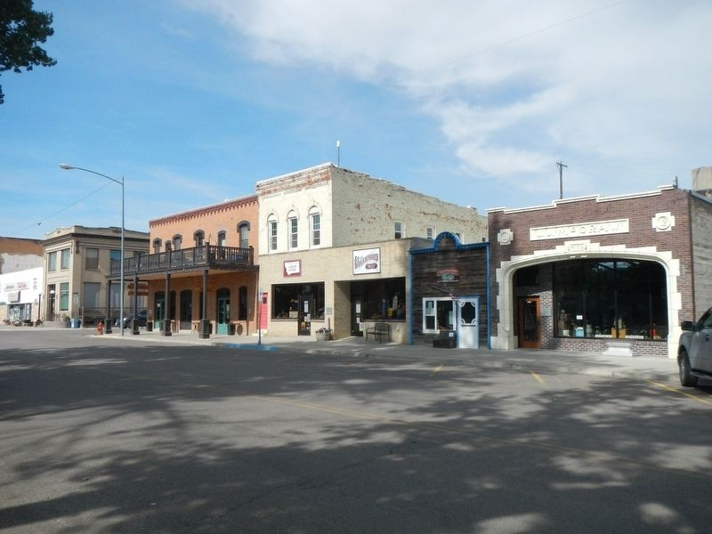 Fort Benton Front Street image. Click for full size.