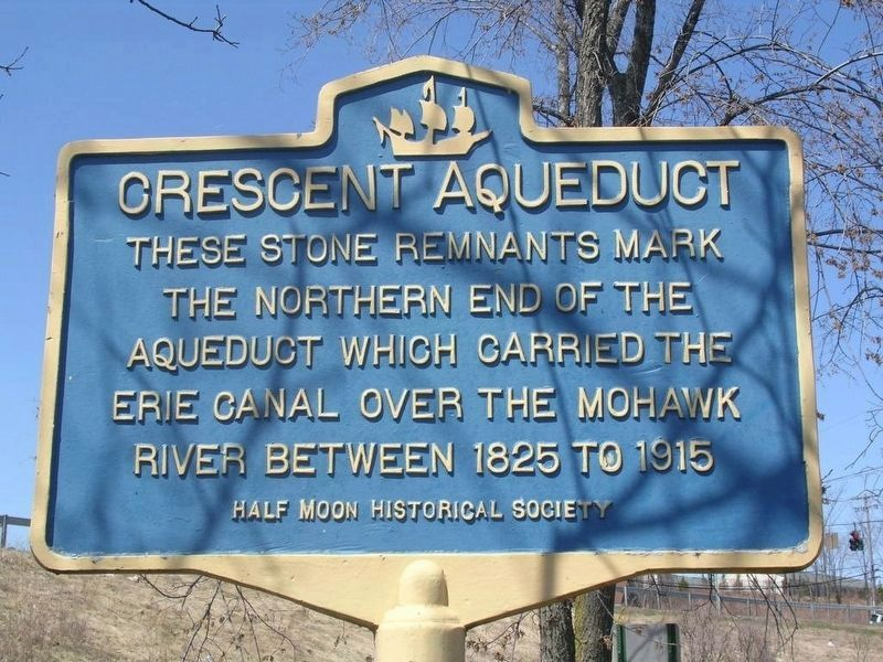 Crescent Aqueduct Marker image. Click for full size.