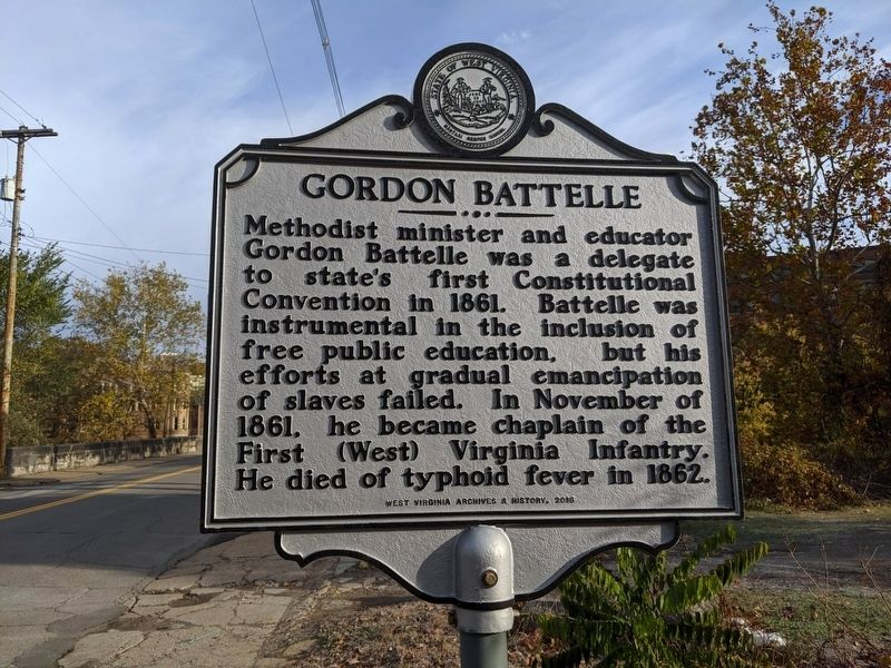 Gordon Battelle Marker image. Click for full size.