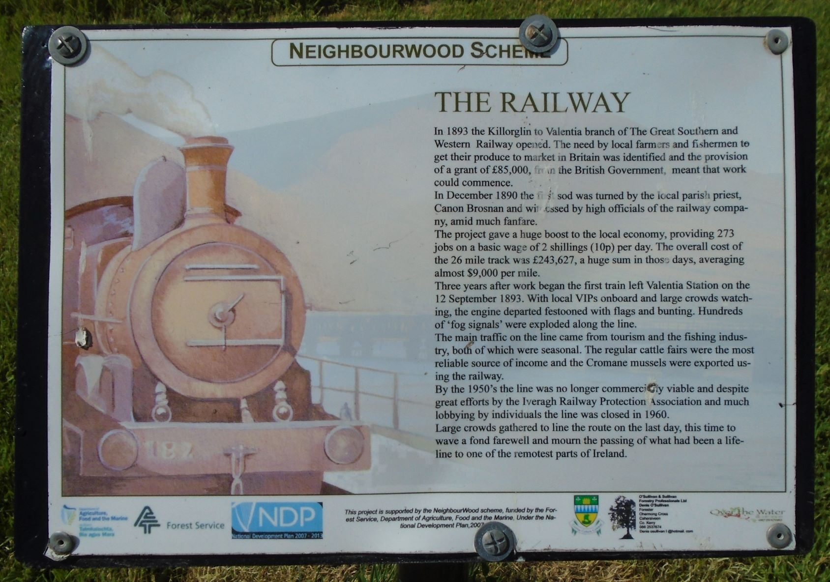 The Railway Marker