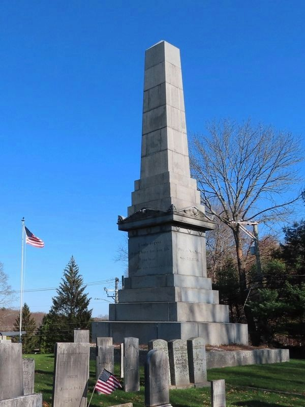 Captain Nathan Hale Monument image. Click for full size.