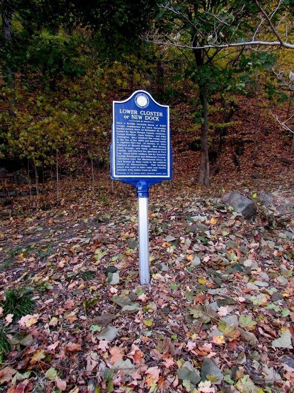 Lower Closter or New Dock Marker image. Click for full size.