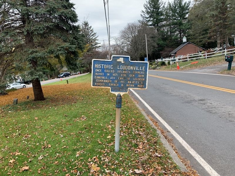 Historic Loudonville Marker image. Click for full size.
