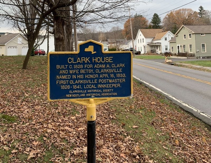 Clark House Marker image. Click for full size.