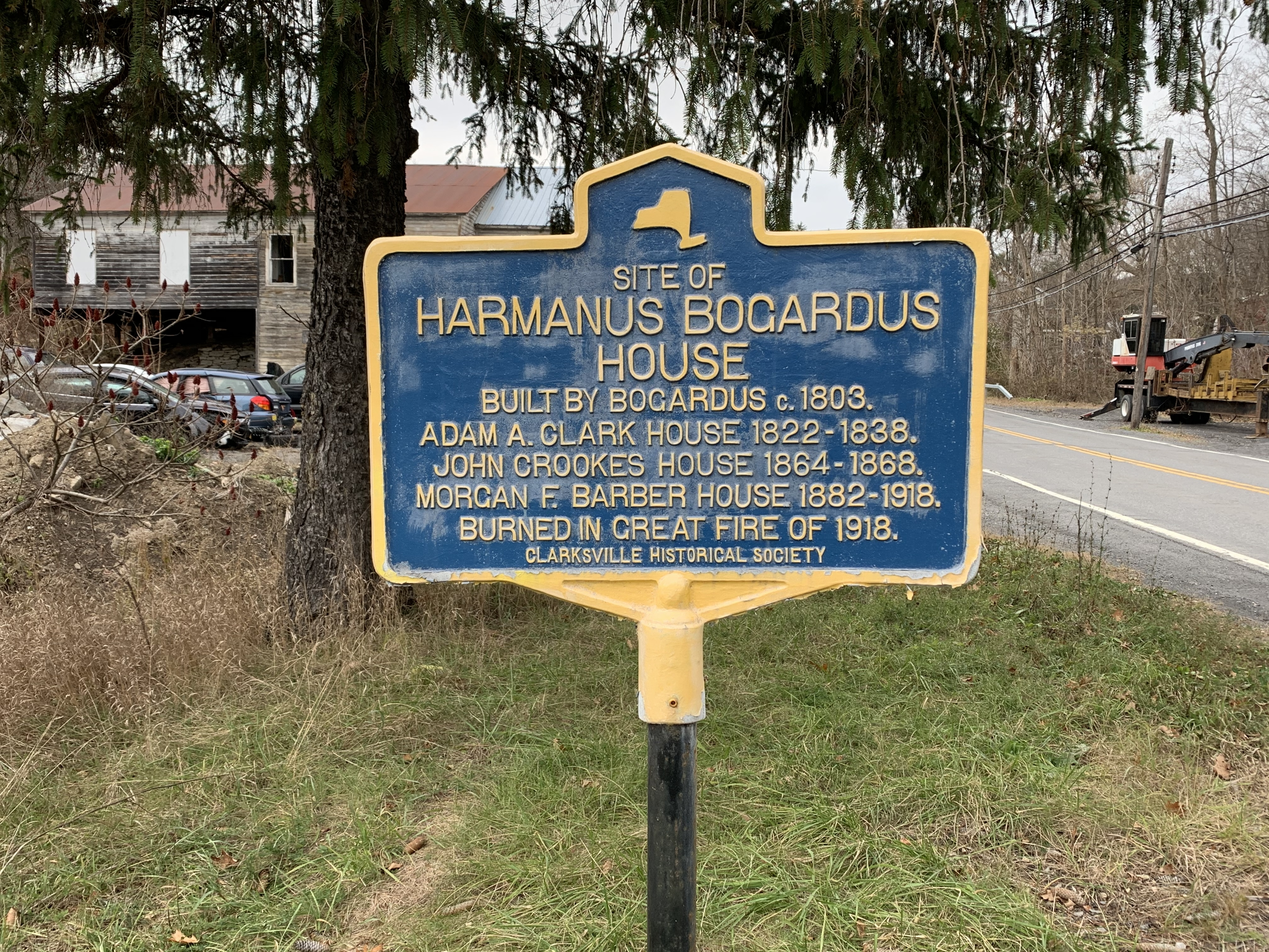 Harmanus Bogardus House Marker
