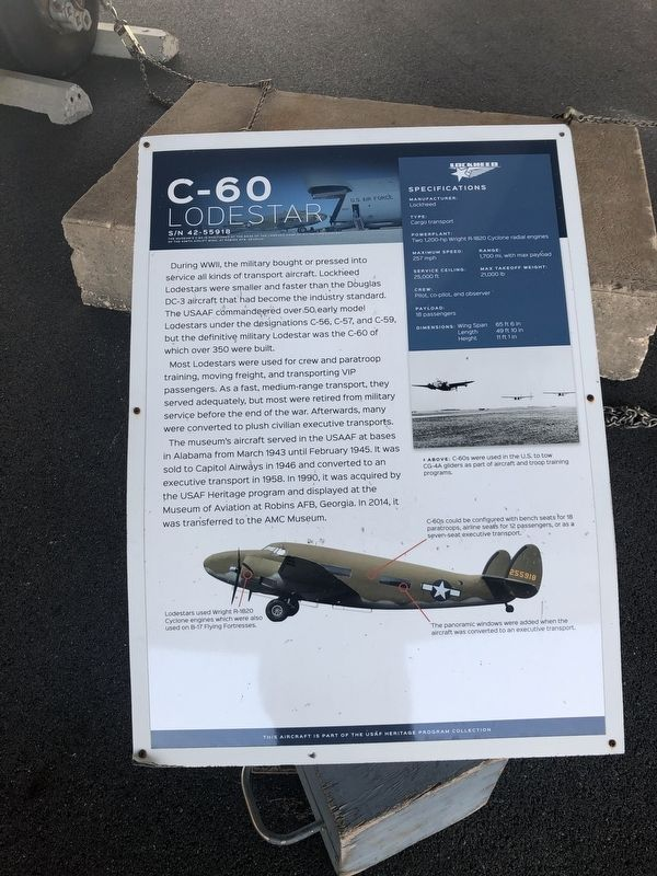 C-60 Marker image. Click for full size.