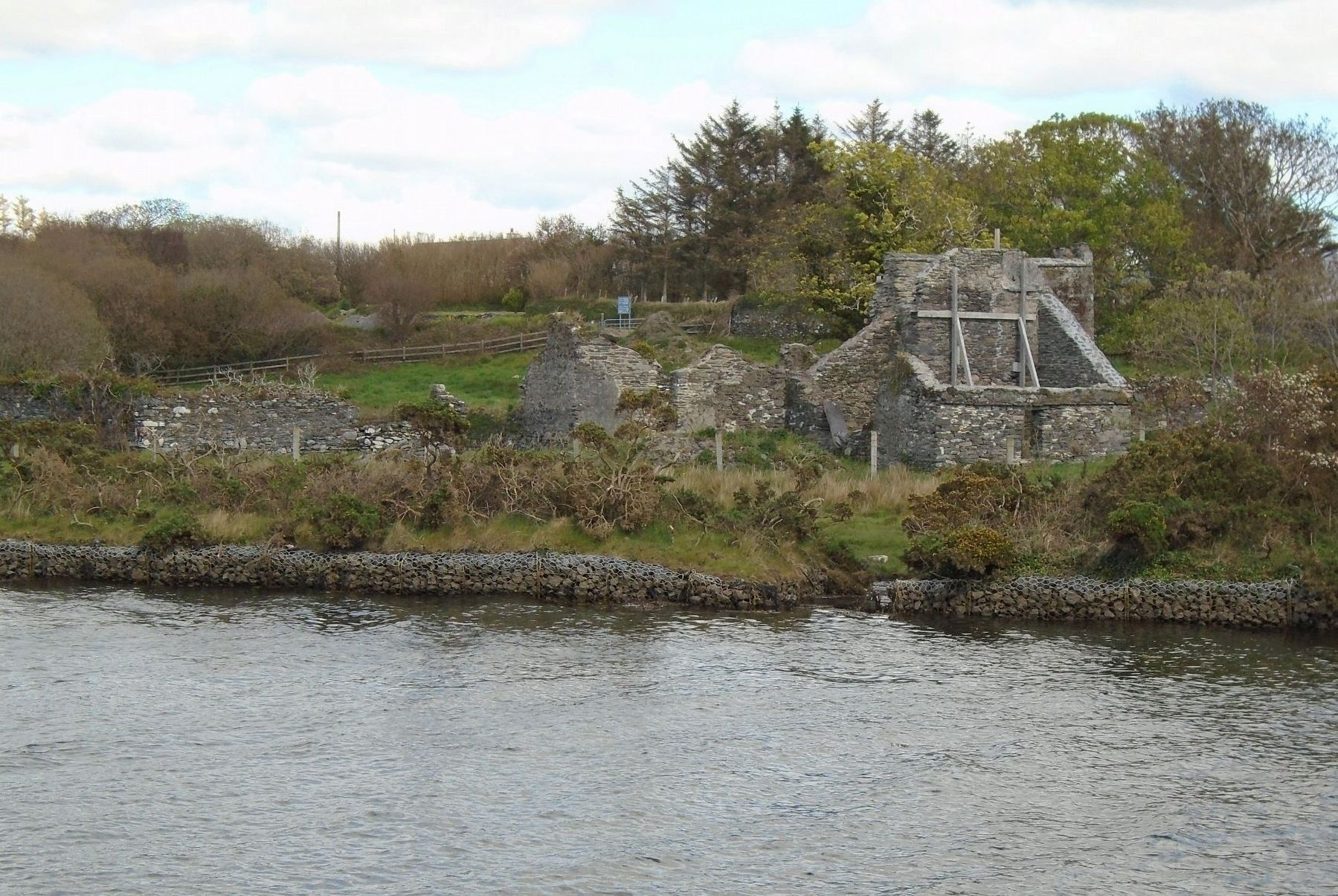 O'Connell's Birth Place Ruins image. Click for full size.