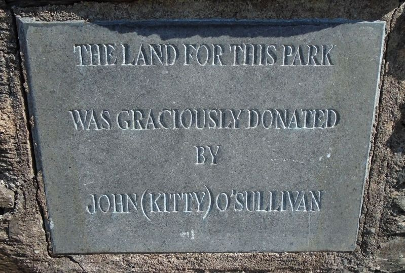 The Daniel O'Connell Memorial Park Donor Marker image. Click for full size.