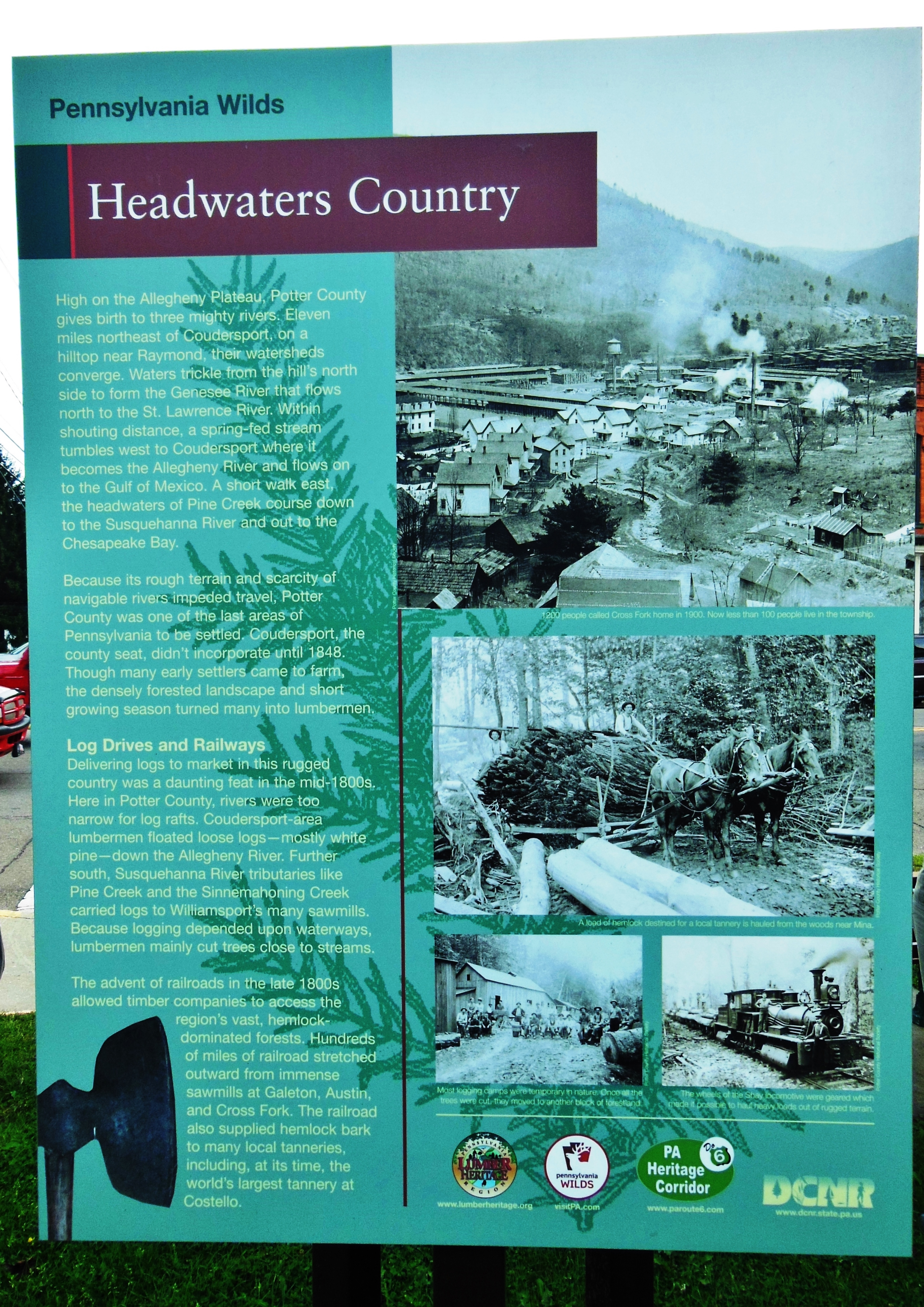 Headwaters Country Marker