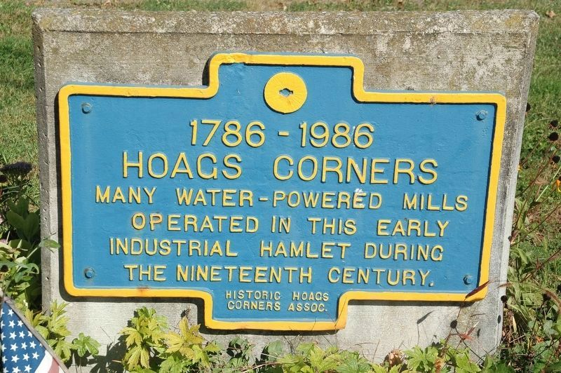 Hoags Corners Marker image. Click for full size.