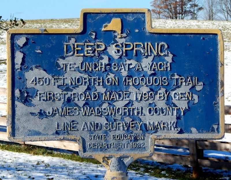 Deep Spring Marker image. Click for full size.