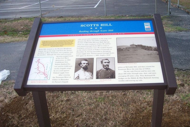 Scotts Hill Marker image. Click for full size.
