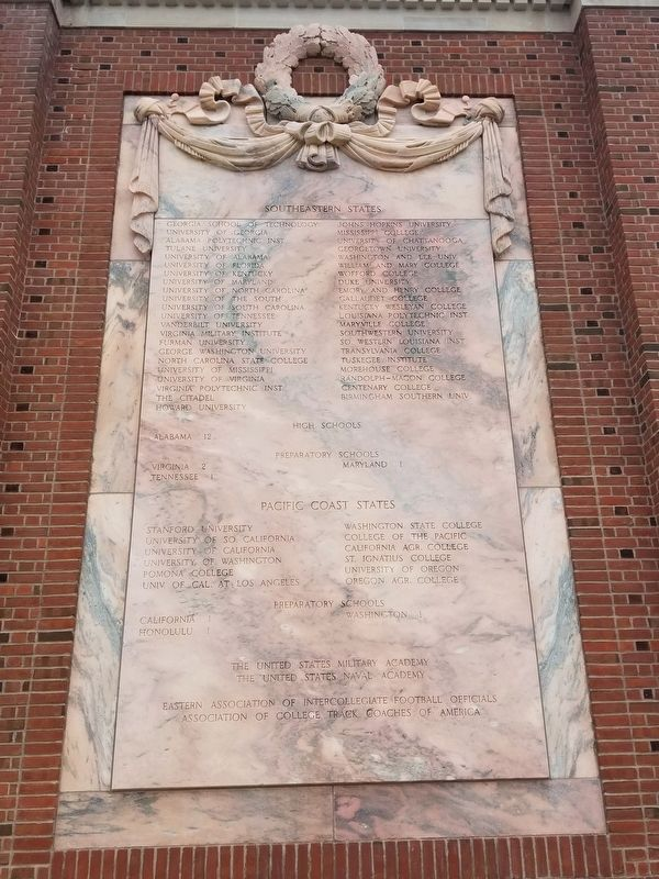 Walter Camp Memorial image. Click for full size.