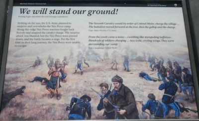 <i>We will stand our ground!</i> Marker image. Click for full size.