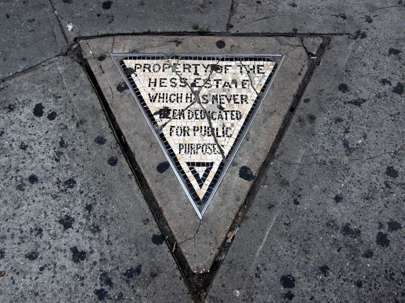 The Hess Triangle Marker image. Click for full size.