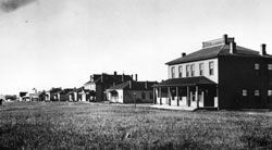Fort Buford circa 1880s. image. Click for full size.