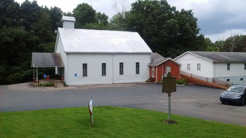 Trammel Fork Missionary Baptist Church Marker image. Click for full size.