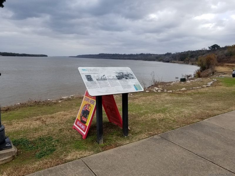 Natchez Under-the-Hill and the Steamboat Era Marker image. Click for full size.