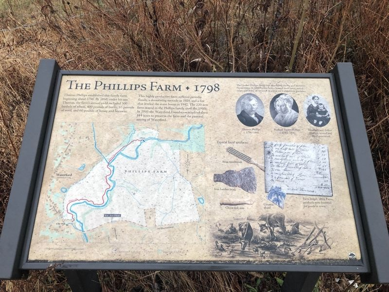 The Phillips Farm Marker image. Click for full size.