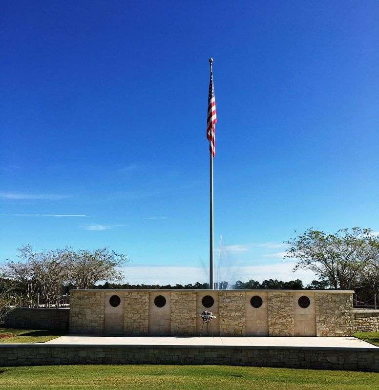 Jacksonville National Cemetery Wall of Fame image. Click for full size.