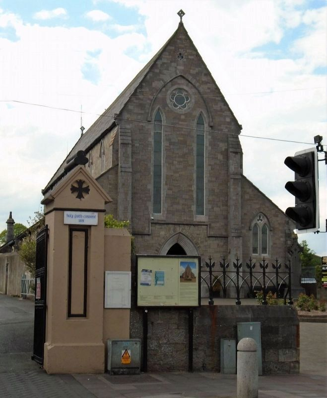 St Patrick's Church, Celbridge and Marker image. Click for full size.