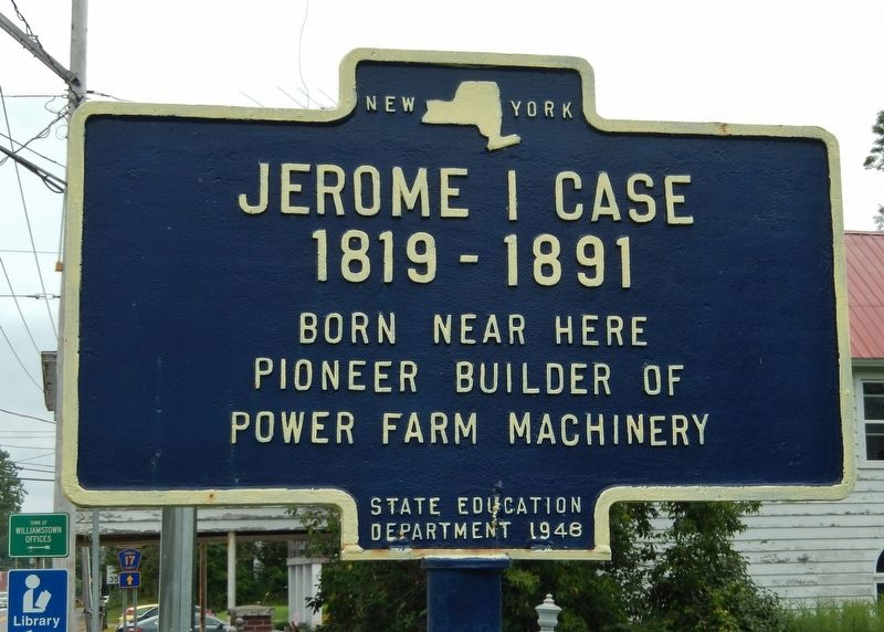 Jerome I Case Marker image. Click for full size.