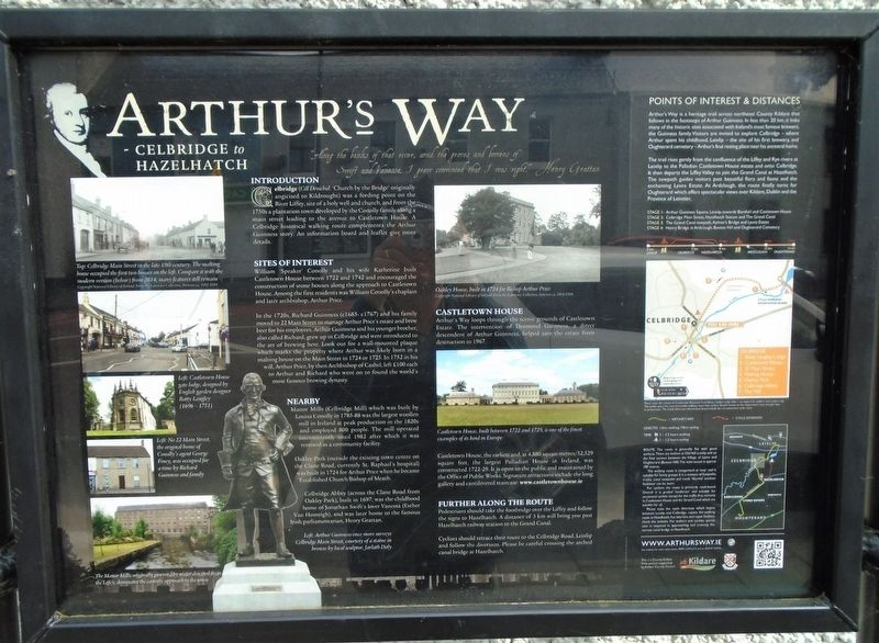Arthur's Way / <i>Cosán Arthur</i> Marker image. Click for full size.
