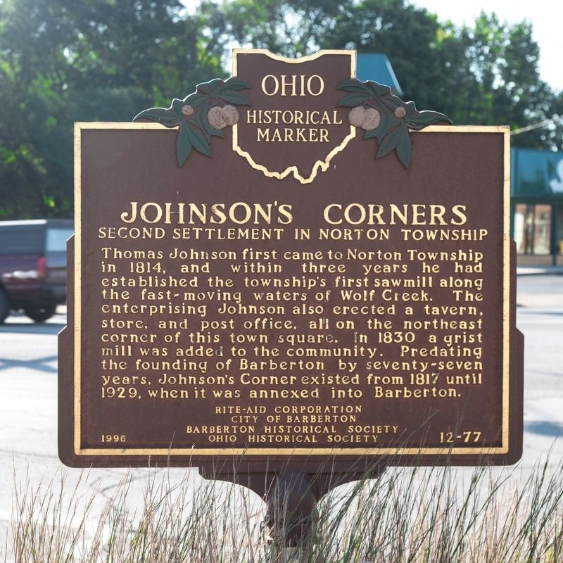 Johnson's Corners Marker image. Click for full size.