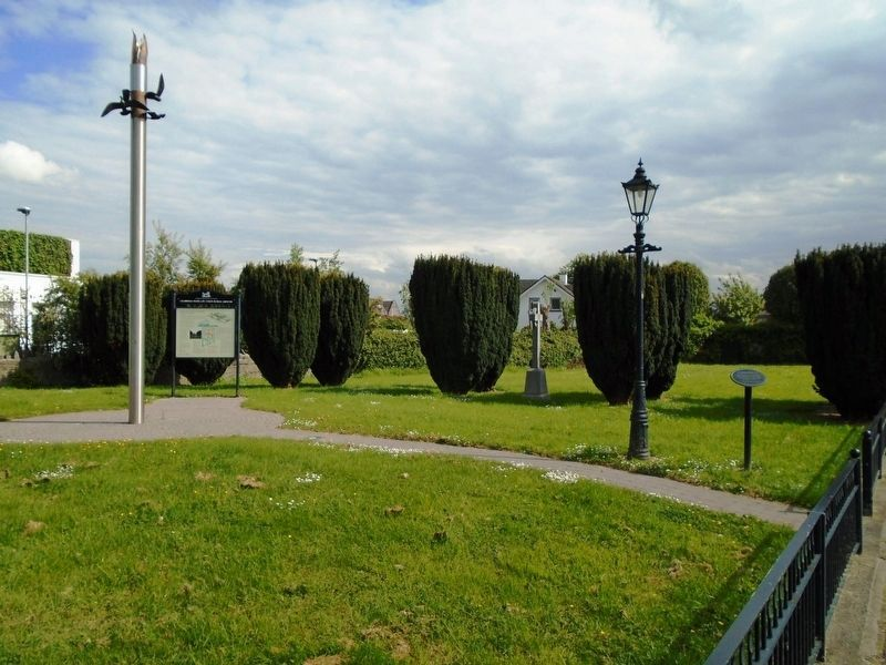 Celbridge Union Workhouse Cemetery and Markers image. Click for full size.