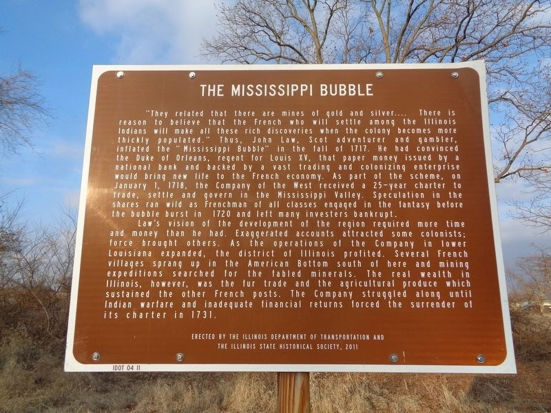 The Mississippi Bubble Marker image. Click for full size.