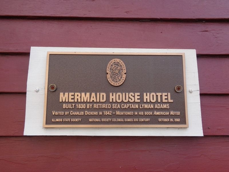 Mermaid House Hotel Marker image. Click for full size.