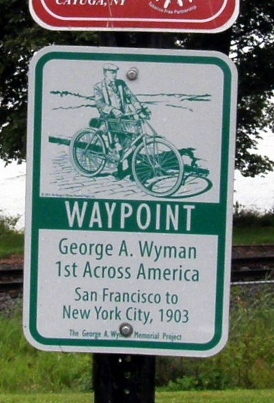 George A. Wyman Marker image. Click for full size.
