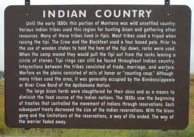 Indian Country Marker image. Click for full size.