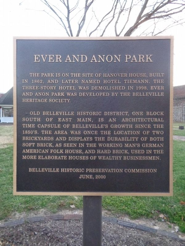 Ever and Anon Park Marker image. Click for full size.