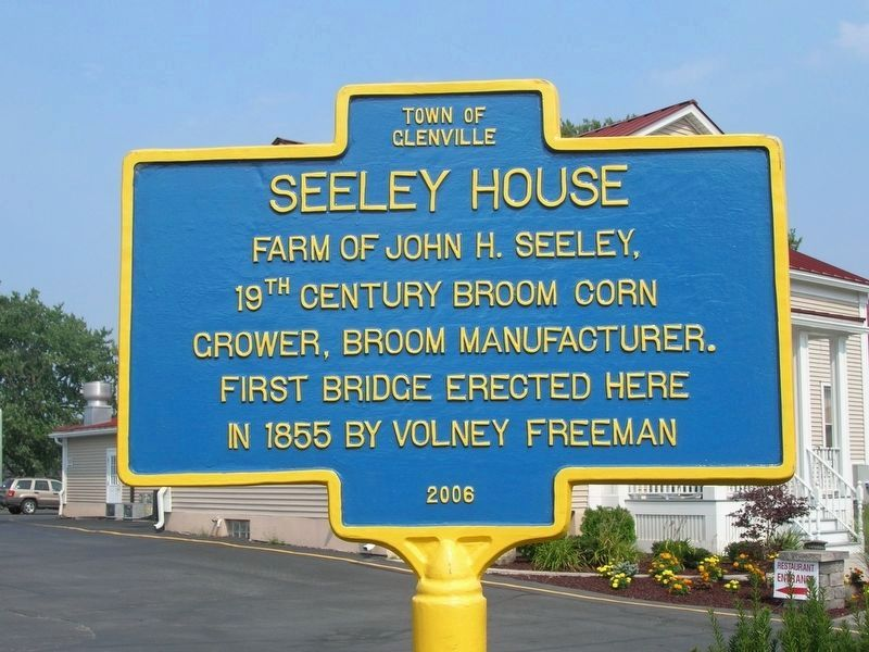 Seeley House Marker image. Click for full size.