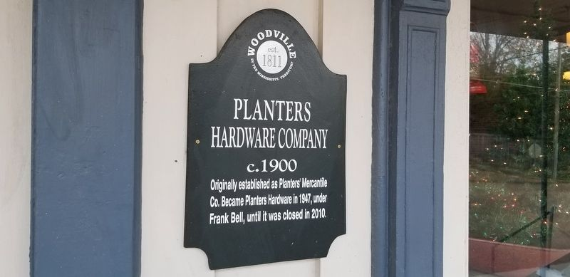Planters Hardware Company Marker image. Click for full size.