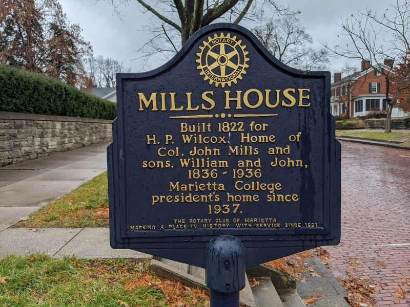 Mills House Marker image. Click for full size.