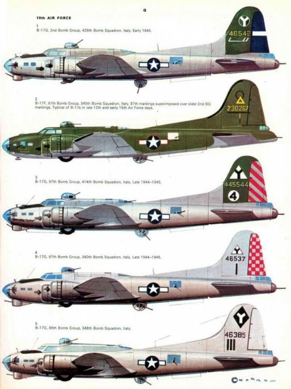 B17 Camouflage image. Click for full size.