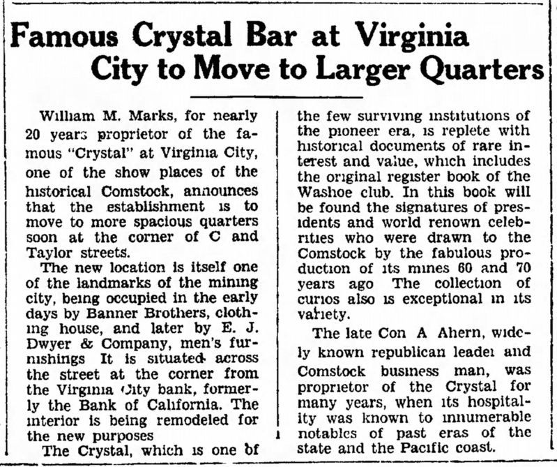 The Crystal Bar Marker image. Click for full size.