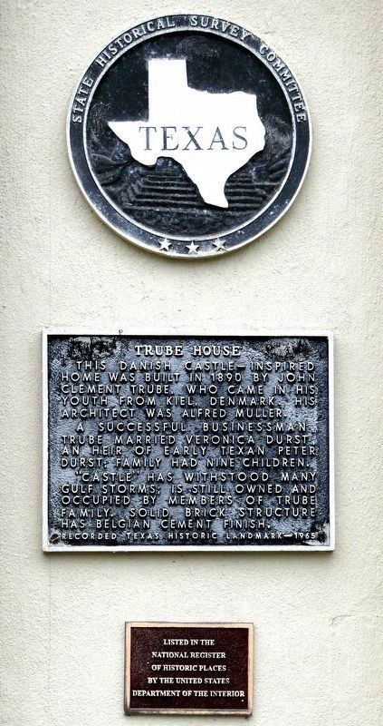 Trube House Marker image. Click for full size.