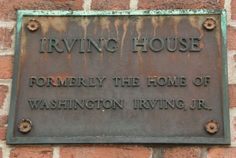 Irving House Marker image. Click for full size.