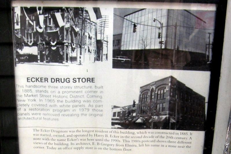 Ecker Drug Store image. Click for full size.