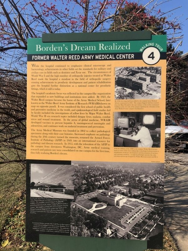 Borden's Dream Realized Marker image. Click for full size.