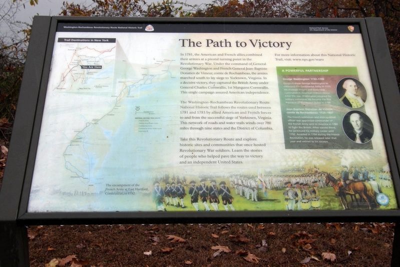 The Path to Victory Marker image. Click for full size.