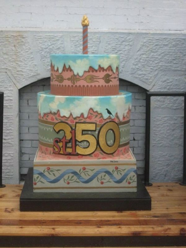 This cake commemorates Marker image. Click for full size.