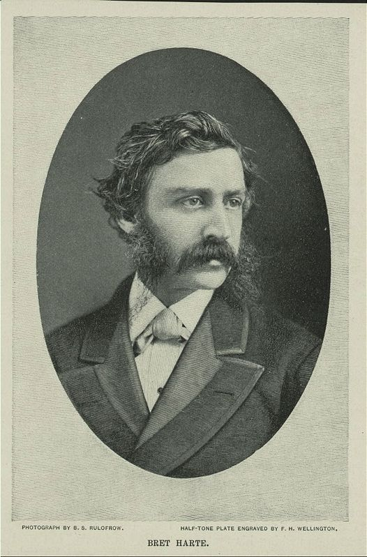 Bret Harte image. Click for full size.