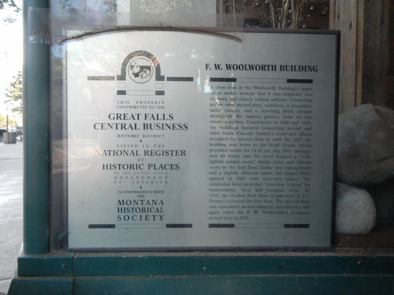 F.W. Woolworth Building Marker image. Click for full size.