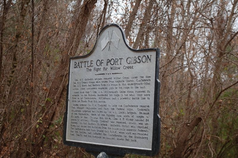 Battle of Port Gibson Marker image. Click for full size.