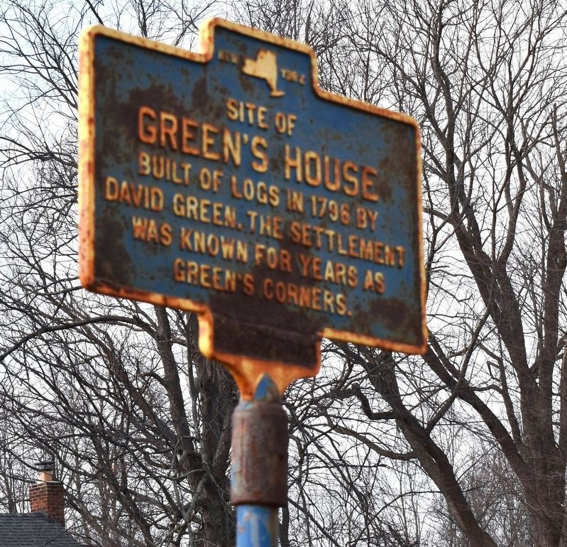 Site of Green's House Marker image. Click for full size.