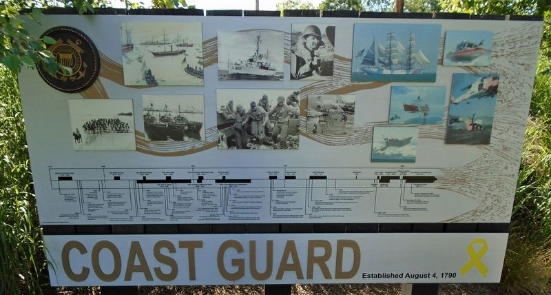 Coast Guard Marker image. Click for full size.